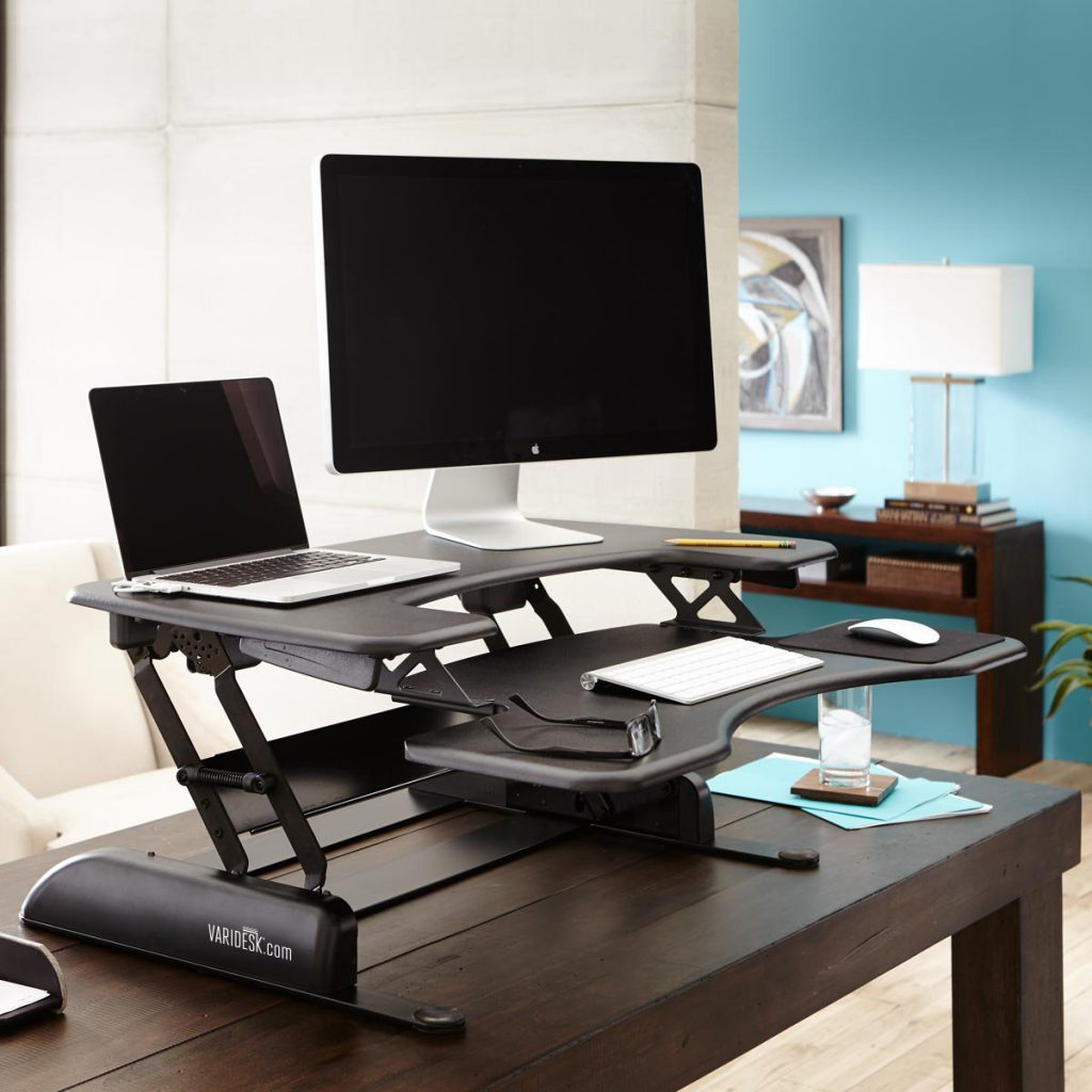 Height Adjustible standing desk Varidesk Pro Plus