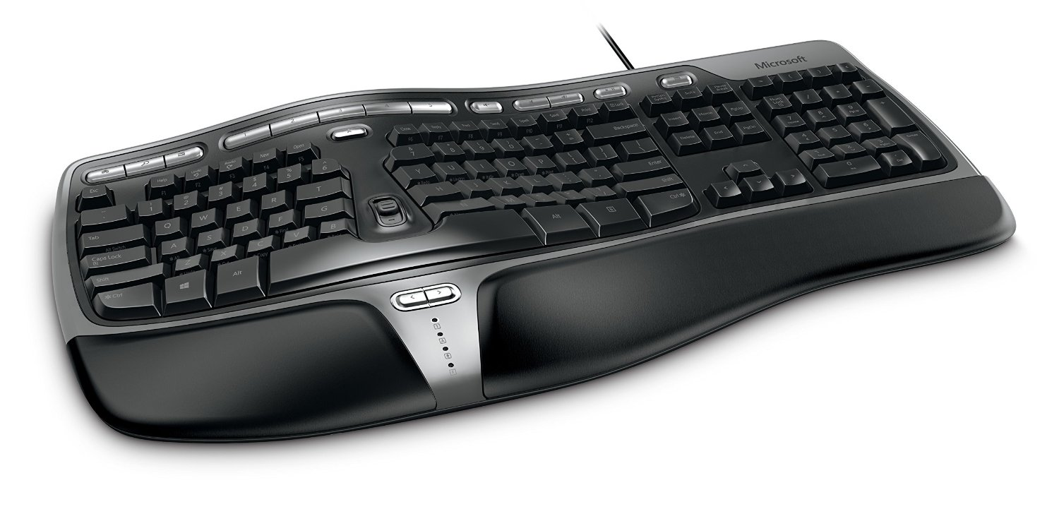 microsoft natural ergonomic keyboard 4000 business