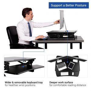 Flexispot standing work station